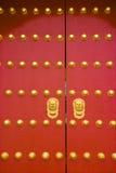 chińskiej bramy królewski tradycyjny Fotografia Stock