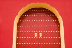chińskiej bramy królewski tradycyjny Obrazy Royalty Free