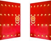 chińskiej bramy królewski tradycyjny Obrazy Stock