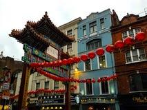 Chińskiej bramy kultury sztuki budynku nieba religijny widok Obraz Royalty Free