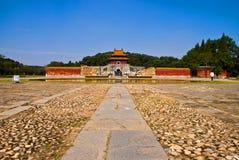 Chińskiej Ming Dynastii cesarscy grobowowie w zhongxiang   Zdjęcia Royalty Free