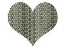 Chi vive nel vostro cuore? royalty illustrazione gratis
