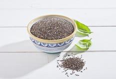 Chia种子 免版税图库摄影