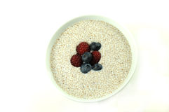 Chia cereal Stock Photos