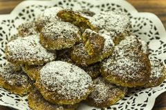Chia-Cookies-9 Fotos de archivo libres de regalías