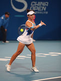 Chia-Jung Chuang in action at the 2010 China Open royalty free stock image