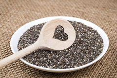 Chia with Love Royalty Free Stock Photos