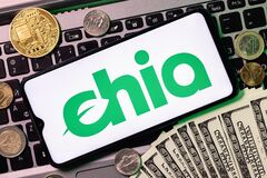Free Chia Network Monetary Rewards Through Allocation Of Memory Of Disk Space Royalty Free Stock Photos - 216450248
