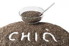 Chia-Samen lokalisiert Stockfotos