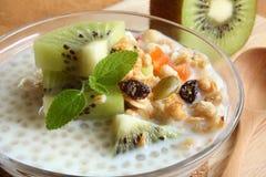 Chia seed granola Royalty Free Stock Photo