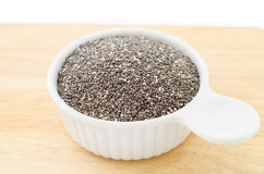 Chia seed healthy super food Royalty Free Stock Photos