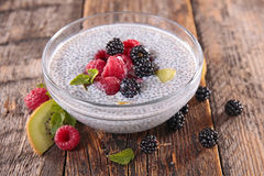 Chia seed pudding Stock Photography
