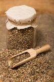 Hemp seeds Royalty Free Stock Photography