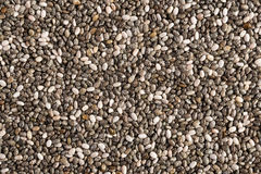 Chia seeds background Royalty Free Stock Images