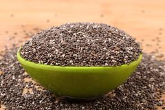 Chia seeds Royalty Free Stock Photo