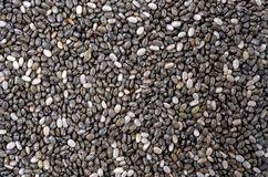 Chia Seeds. A close-up image of chia seeds Stock Photos
