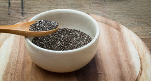 Chia seeds Royalty Free Stock Images