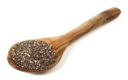 Chia Seeds - Gezonde Voeding royalty-vrije stock foto's