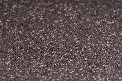 Chia seeds. Picture of many chia seeds Royalty Free Stock Photography
