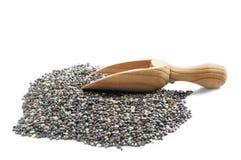 Chia seeds pile Stock Photos