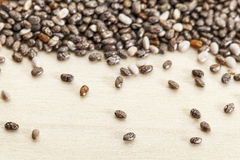 Chia seeds  close-up Stock Photography