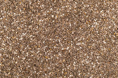 Chia Seeds Texture immagine stock