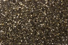 Chia Seeds Texture immagini stock