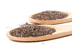 Chia seeds Stock Images