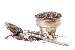 Chia seeds Royalty Free Stock Image