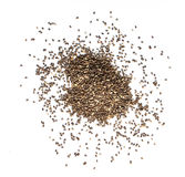Chia seeds. On a white background Stock Image
