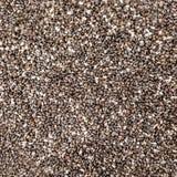 Chia semeia a textura, fim acima Chia Pattern preto Dieta saudável imagem de stock royalty free
