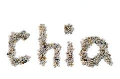Chia Startwerte für Zufallsgenerator Stockfoto