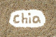 Chia Startwerte für Zufallsgenerator Stockfotos