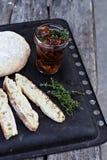 Chiabatta Italian bread Royalty Free Stock Photos