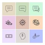 chiacchierata, conversazione, messaggio, soldi, CI, chiave, dollaro, PE 9 royalty illustrazione gratis