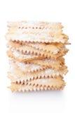 Chiacchiere, итальянский стог печенья масленицы Стоковые Фото