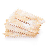 Chiacchiere, italian Carnival pastry Royalty Free Stock Photo