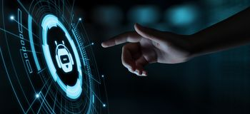 Chiacchieri il concetto di chiacchierata online della tecnologia di Internet di affari di comunicazione del robot del bot immagini stock