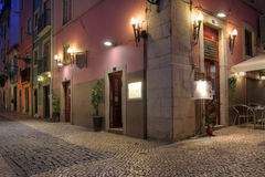 Chiado, Лиссабон, Португалия Стоковая Фотография RF