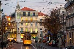 Chiado Lissabon Royalty-vrije Stock Foto