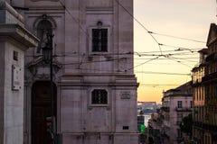 Chiado Lissabon Royalty-vrije Stock Afbeeldingen