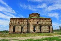 Chiajna修道院废墟 库存图片