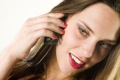 Chiamare bellezza Fotografie Stock