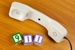 Chiamata 911 Immagini Stock