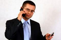 Chiamata di affari Immagini Stock Libere da Diritti
