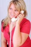 Chiamata di telefono fotografia stock