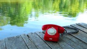Chiamata di telefono Immagine Stock