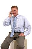 Chiamata di telefono casuale immagini stock libere da diritti