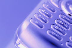 Chiamata di telefono delle cellule via Immagini Stock Libere da Diritti