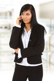 Chiamata di telefono di affari Immagini Stock